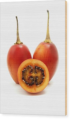 Wood Print featuring the photograph Tamarillo by Fabrizio Troiani