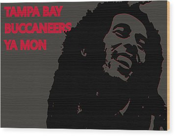Tampa Bay Buccaneers Ya Mon Wood Print by Joe Hamilton