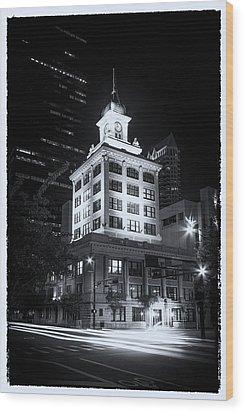 Tampa's Old City Hall Wood Print