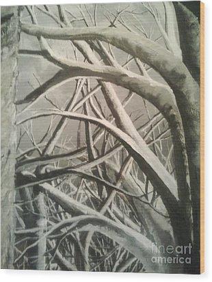 Tangle Wood Print by Pheonix Creations