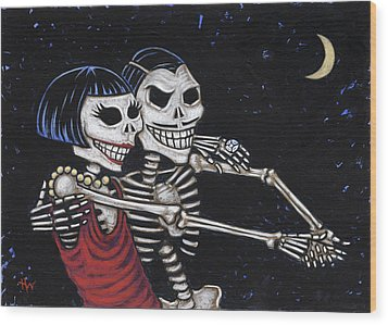 Tango 4 Ever Wood Print by Holly Wood