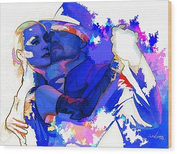 Tango Argentino - Pride And Devotion Wood Print by Reno Graf von Buckenberg