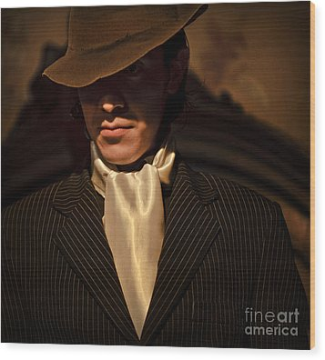 Tango - El Hombre Wood Print by Michel Verhoef