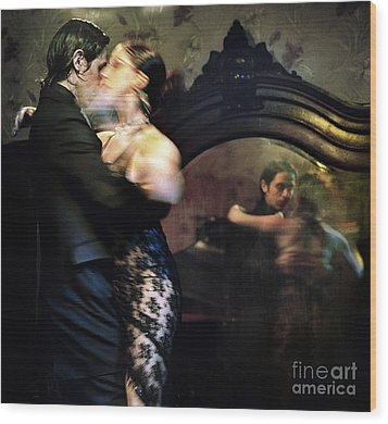 Tango - Mirrored Wood Print