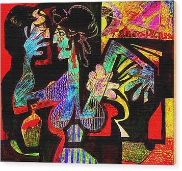Tango Picasso-ii Wood Print by Dean Gleisberg