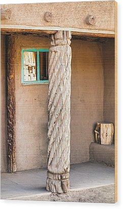 Taos Pueblo Study 3 Wood Print