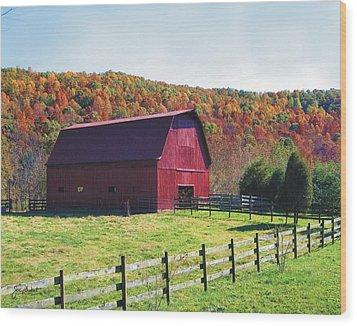 Tarheel Barn Wood Print