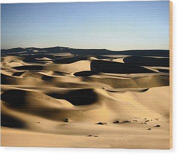 Tatooine Wood Print by A Rey