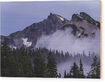 Tatoosh Range Wood Print