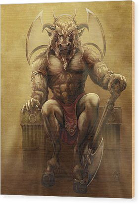 Taurus II Wood Print by Rob Carlos
