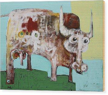 Taurus No 4 Wood Print by Mark M  Mellon