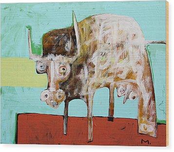Taurus No 5 Wood Print by Mark M  Mellon