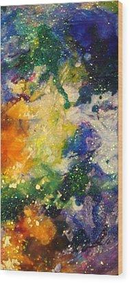 Taurus14 Wood Print by Kathleen Fowler