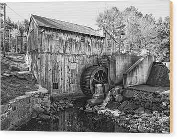 Taylor Sawmill - Derry New Hampshire Usa Wood Print by Erin Paul Donovan
