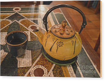 Wood Print featuring the photograph Tea Time In Asia by Robert Meanor