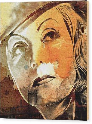 Tears In My Eyes Wood Print by Steve K