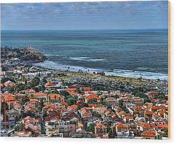 Wood Print featuring the photograph Tel Aviv Spring Time by Ron Shoshani