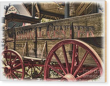 Temecula Wagon Wood Print