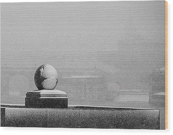 Tempest - Featured 3 Wood Print by Alexander Senin