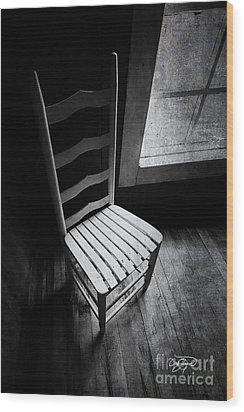 Ten Feet Tall Wood Print by Cris Hayes