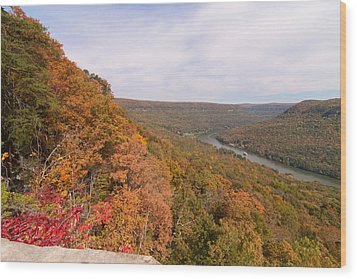 Wood Print featuring the photograph Tennessee Riverboat Fall by Paul Rebmann