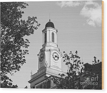 Tennessee Tech University Derryberry Hall Wood Print by University Icons