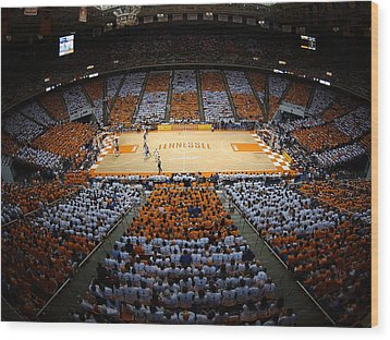 Tennessee Volunteers Thompson-boling Arena Wood Print by Replay Photos