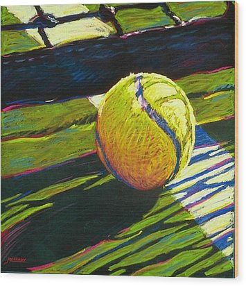 Tennis I Wood Print by Jim Grady