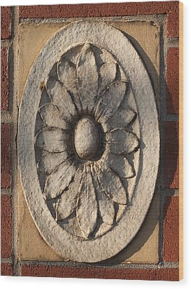 Wood Print featuring the photograph Terracotta #3 by Scott Kingery