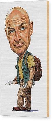Terry O'quinn As John Locke Wood Print by Art