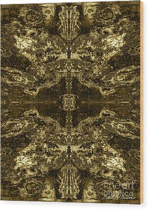 Tessellation No. 2 Wood Print by David Gordon