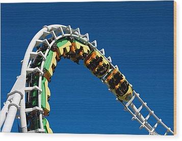 Test Drive The Sea Serpent Wood Print