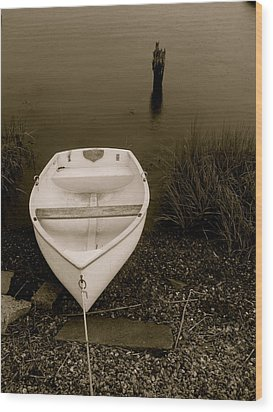 Wood Print featuring the photograph Tethered by Paul Foutz