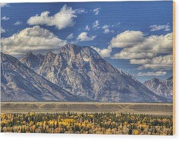 Teton Glory Wood Print by Mark Kiver