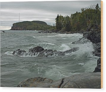 Tettegouche State Park Wood Print by James Peterson