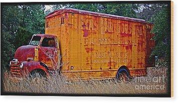 Texas Moving Co. - No.0651d Wood Print