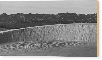Textures Of Dune Wood Print