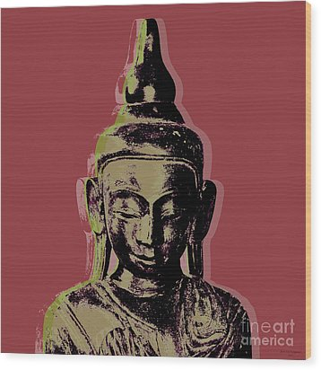 Thai Buddha #1 Wood Print