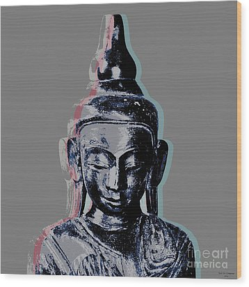 Thai Buddha #2 Wood Print