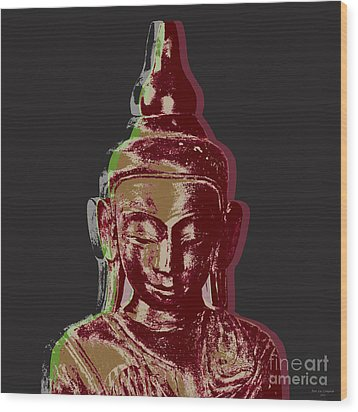 Thai Buddha #3 Wood Print