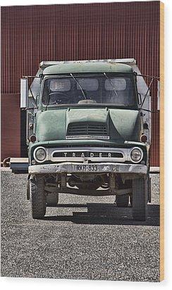 Thames Trader Vintage Truck Wood Print by Douglas Barnard