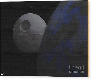 ...that's No Moon... Wood Print by Andy Heavens
