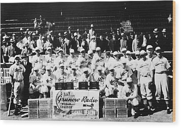 The 1934 St. Louis Cardinals Wood Print by Retro Images Archive