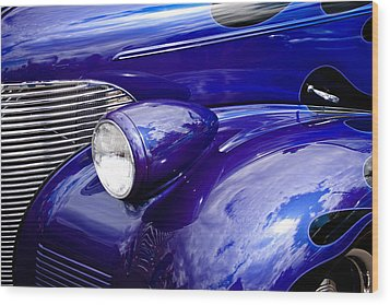 The 1939 Chevy Coupe Wood Print by David Patterson