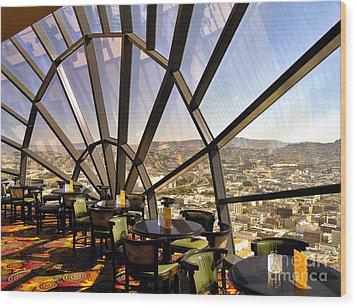 The 39th Floor - San Francisco Wood Print
