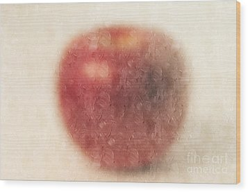The Abstract Apple Wood Print by Andee Design