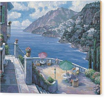 The Amalfi Coast Wood Print by John Zaccheo