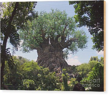 The Amazing Tree Of Life  Wood Print by Lingfai Leung