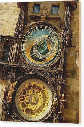 The Ancient Of Clocks Wood Print by Ira Shander