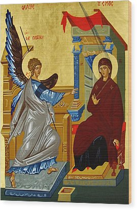 The Annunciation Wood Print by Joseph Malham